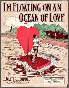 An Ocean of Love vintage sheet music
