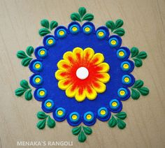 Easy Rangoli Patterns, Rangoli Designs Simple Diwali, Simple Rangoli Border Designs, Rangoli Simple, Indian Rangoli Designs, Rangoli Designs Latest, Rangoli Colours, Rangoli Designs Flower, Free Hand Rangoli Design