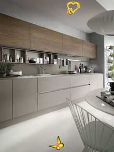 beenbifunow Modern kitchen in dove gray color perfect for your home in modern style #kitchen ... -  Dove gray modern kitchen perfect for your modern style home #kitchen interior ideas Garden pergola: - #color #DecoratingKitchen #DiningRoomDesign #dove #Gray #home #kitchen #modern #ModernKitchenDesign #perfect #style<br> Kitchen Room Design, Kitchen Cabinet Design, Kitchen Sets, Modern Kitchen Design, Home Decor Kitchen, Kitchen Layout, Interior Design Kitchen, Kitchen Designs, Minimal Kitchen