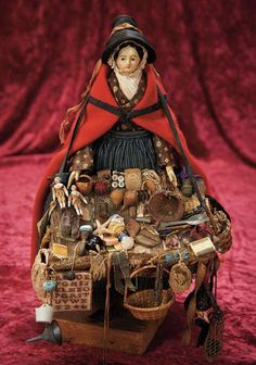 Lot: Early German Papier-Mache Doll as Welsh Peddler Lady cm.) Papier-ma… – so swank Lot: Early German Papier-Mache Doll as Welsh Peddler Lady cm. Dollhouse Dolls, Miniature Dolls, Miniature Houses, Victorian Dollhouse, Modern Dollhouse, China Dolls, Old Dolls, Little Doll, Antique China