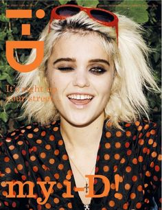 awesome i-D Pre-Fall 2013 Street Issue | Sky Ferreira por Angelo Pennetta   [Capa]