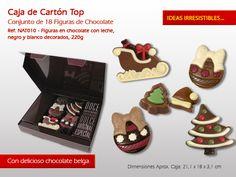 ¿Sabías que con nuestras figuras de chocolate pueden decorar su pastel para el final del año de una forma original? Echa un vistazo a nuestras sugerencias:http://www.mysweets4u.com/es/?o=2,5,44,49,4,0
