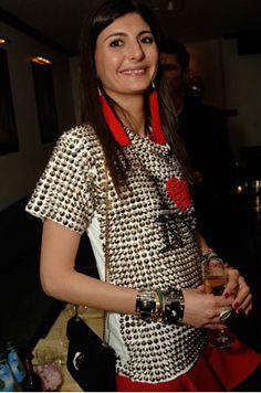 Eddie Borgo Welcomes Giovanna Battaglia to New York with Celebratory Dinner