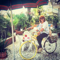 Ecco al citybike di Rosy dalla Calabria! La comodità che cercava
