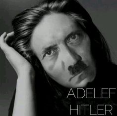 Hitler/Adele  DYING OF LAUGHTER