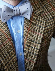 Tweed & bow tie