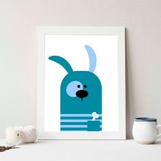 We-Art Stampa Bone Rabbit Lovepromo