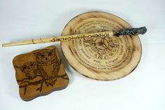 Items similar to Witchy Altar Kit /wooden set for witchcraft/Wheel of the Year/Magic wand/Wood wicca coasters on Etsy Wand Woods, Magic Book, Book Of Shadows, Wicca, Altar, Witchcraft, Wands, Coasters, Etsy Shop