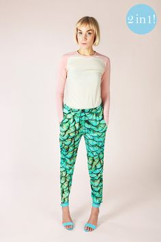 Alexandria peg trousers pattern (PDF download) /via Named