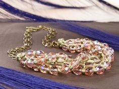 FREE Ideas : Artbeads.com - Rosaline's Sunrise Necklace