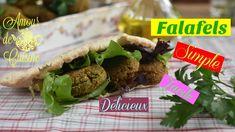 recette falafel fait maison, comment faire et réussir les falafels Gozleme, Falafels, Ramadan Recipes, Tacos, Beef, Cooking, Ethnic Recipes, Robot, Brick