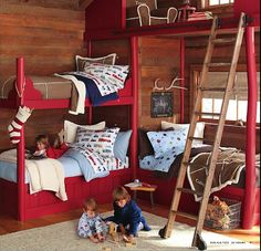 Loft play space    http://www.potterybarnkids.com/pages/pottery-barn-kids-catalog-fall-d5-11.html