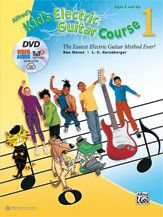 Alfred's Kid's Electric Guitar Course 1 (Book, DVD & Online Audio, Video & Software)