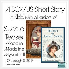 Such a Tease:  The bonus short story for those who purchase Such a Tease by March 28, 2017