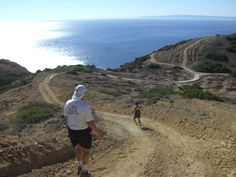 """Insanely beautiful race. The Catalina Island Eco Marathon in 2009. The only issue? It has a few """"hills..."""""""