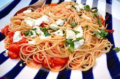 Shorely Chic: Simple Summer Pasta