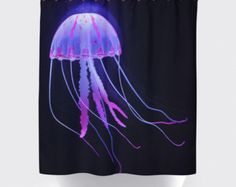 Sea Turtle shower curtainsBath shower by BigWaveClothingCo on Etsy