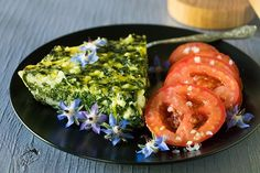 It was the photo that caught my attention on the Epicurious website. I was searching for something, and this distracted me. A simple, beautiful Irish recipe. Savory tarts, pies, and qu… Cilantro Pesto, Farmers Cheese, Spinach Pie, Savory Tart, Country Cooking, Irish Recipes, Tomato Salad, Pie Dish, Brunch