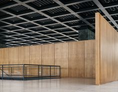 Wooden Partitions, Berlin Photography, David Chipperfield Architects, Glass Structure, World Famous Artists, Walter Gropius, Container Architecture, Ludwig Mies Van Der Rohe, Stone Cladding