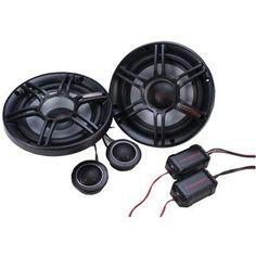 "Crunch Cs 6.5"" 300-watt 2-way Component Speaker System"