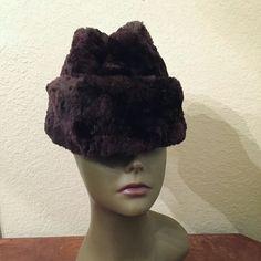 07e0c1846cbfc Vtg North King Beaver Fur Sides Brown Fur Hat L JJ Seifter Sons Cossack