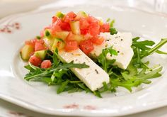 Seaweed Salad, Starters, Feta, Risotto, Potato Salad, Tapas, Potatoes, Cheese, Snacks