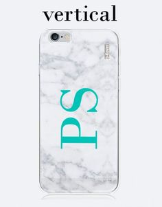funda-movil-marmol-gris-personalizada-iniciales-vertical-3 Custom Cases, Phone Cases, See Through, Mobile Cases, Initials, Gray, Display, Phone Case