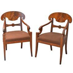 Pair of Biedermeier Chairs