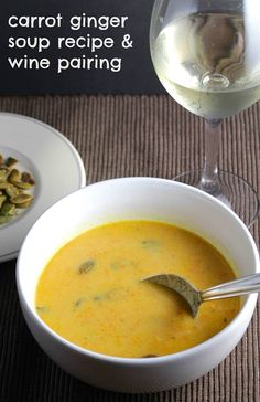 Our Carrot Ginger Soup is an easy vegan recipe with plenty of flavor. Finding wine to go with soup isn't easy, so we have done some testing to come up with some good wine pairing recommendations for the recipe. Read on for details, or click here to jump down to the recipe. If you'd like …