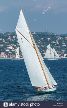 Download this stock image: Les Voiles de Saint-Tropez 30.09.2017 - 08. 10. 2017 / Sailing, Regatta, Yachts, France Cote d'Azur - M7XHKG from Alamy's library of millions of high resolution stock photos, illustrations and vectors.