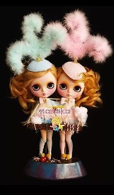 Amazing Siamese Twins By Nanuka Custom Blythe