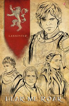 Game of Thrones // House Lannister