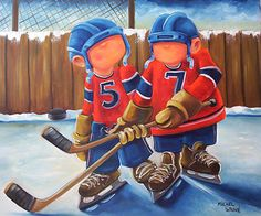 57 Hockey Logos, Hockey Players, Hockey Drawing, Fabian Perez, Bird Drawings, Sports Photos, Types Of Art, Pebble Art, Montreal