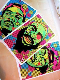 ced1cbbc6aca Flatbush Zombies 3-Digital Print Set