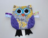 Check out ZoeyKate on Etsy for more owl cuteness