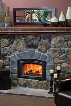 high efficiency wood burning fireplace - Charming Fireplace