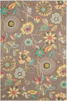 Chic and classic designs adorn this versatile collection of outdoor rugs. Hand hooked made of enhanced polypropylene for extra durability, these rugs are suitable anywhere inside or outside of the house.