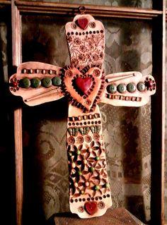 Decorative Clay Cross