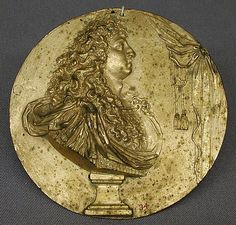 *Medallion.  Date:     17th–18th century. Culture:     French. Medium:     Bronze-gilt.