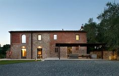 MIDE Architects restored an old farmhouse in Tuscany that's more than a century old