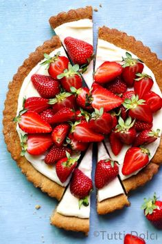 Strawberry crostata makes the best spring dessert! You'll love this easy recipe showcasing fresh strawberries baked in flaky, all-butter pastry. Tart Recipes, Dessert Recipes, Cooking Recipes, Apple Hand Pies, Strawberry Cookies, Delicious Desserts, The Best, Sweet Tooth, Food Photography