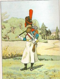 French; 27th Light Infantry, Sapper, Grande Tenue, 1809