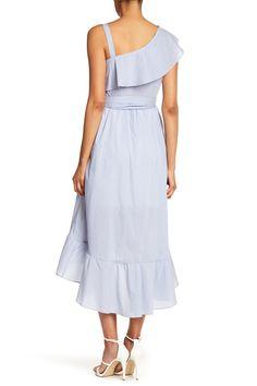 Asymmetrical Pinstripe Dress by Sangria on @nordstrom_rack