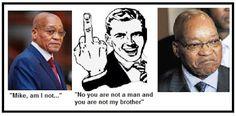 Mike Smith's Political Commentary: Dear President Zuma