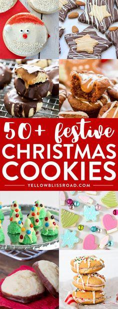 Christmas Cookie Exchange, Best Christmas Cookies, Xmas Cookies, Christmas Sweets, Christmas Cooking, Noel Christmas, Yummy Cookies, Christmas Candy, Christmas Countdown