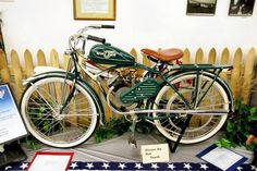 1948 Whizzer on a Schwinn bicycle  my heart just skipped a beat!