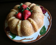 French Yogurt Cake. A lighter version of the classic American Pound Cake