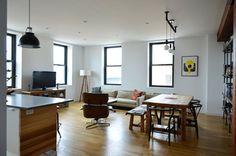 Art & Mañas » Vigas vistas en un apartamento en Brooklyn