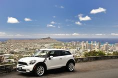 MINI Paceman stands proud in Hawaii.