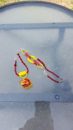 Another angle. #beadsoupblogparty Friendship Bracelets, Crochet Necklace, Soup, Beads, Blog, Jewelry, Beading, Jewlery, Crochet Collar